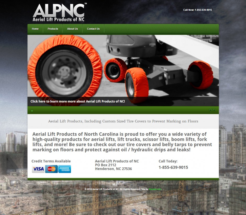 Aerial Lift Products of North Carolina