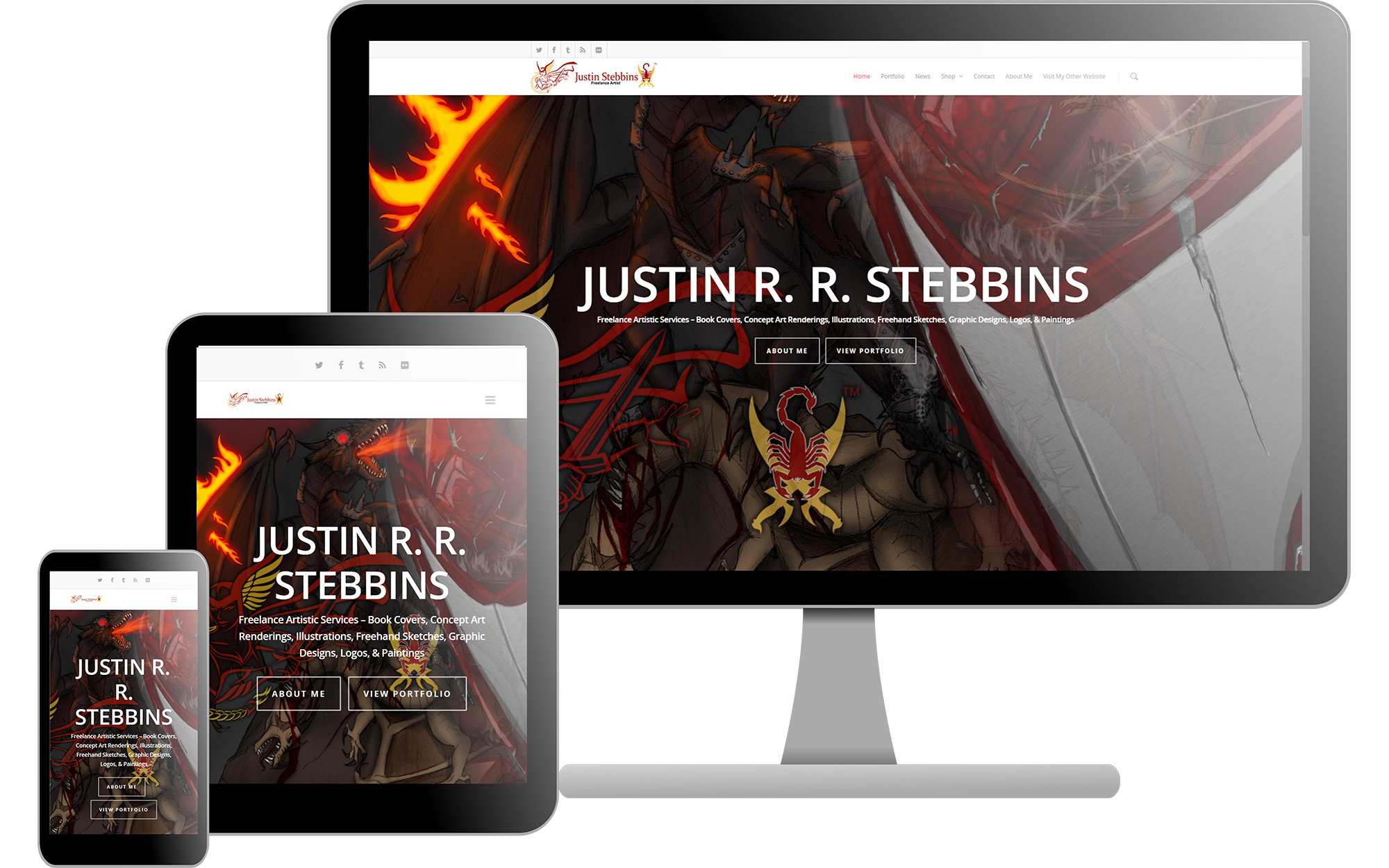 Justin Stebbins Official Site